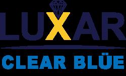 LUXAR CLEAR BLUE LOGO